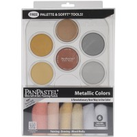 PanPastel Ultra Soft Pastel Boya Metalik Set