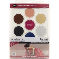 PanPastel Ultra Soft Pastel Boya Portrait Set
