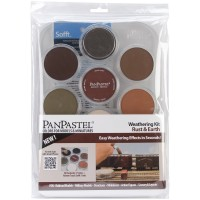 PanPastel Ultra Soft Pastel Boya Rust & Earth Set
